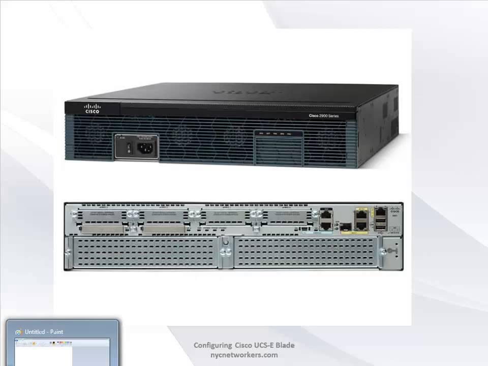 Configuring Cisco UCS E Series Blade