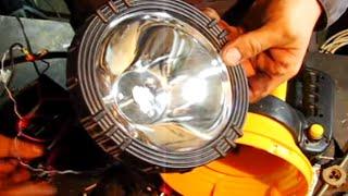 Как переделать обычный фонарик на светодиодный /How to alter the normal on the LED flashlight(Переделка обычного китайского фонаря на светодиодный. Устал, от очень быстро разражающегося фонаря, поэтом..., 2014-03-25T19:44:15.000Z)