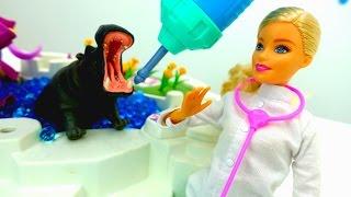 Игры одевалки - Видео с Катей и куклой Барби