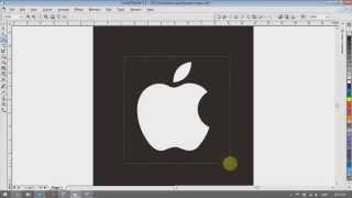 """como transformar maça apple jpeg em arquivo cdr """"corel draw"""""""