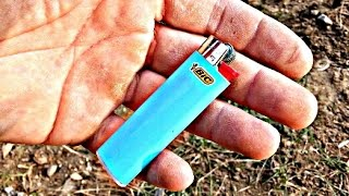 How to Start a Fire With Empty-Broken Lighter