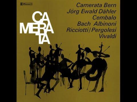 Jörg Ewald Dähler - Antonio Vivaldi: Concerto en si mineur op. 3 no. 10 pour 4 violons, ..