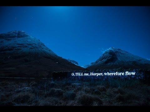 'On the Massacre of Glencoe' Projection Time-lapse - Sir Walter Scott