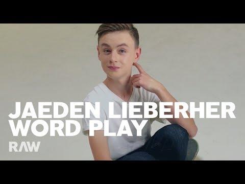 Jaeden Lieberher For RAW's Word Play