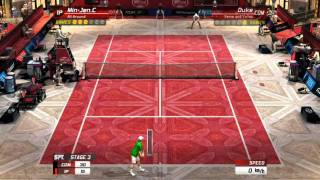 Virtua Tennis 3: Custom Player (All Around) V.S. Duke (LV.38)