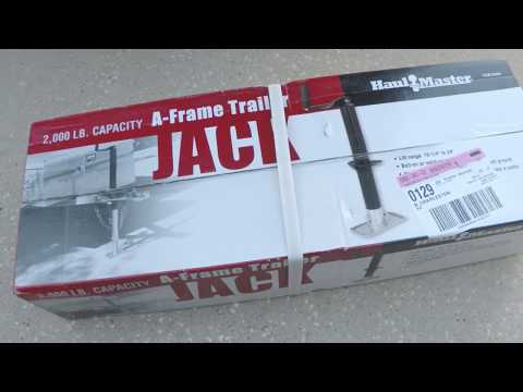 Harbor freight top wind a frame trailer jack replacement