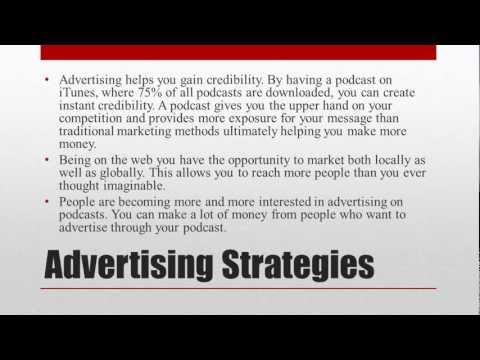 How to use Podcasting to help Advertising clients by Pocasting Training