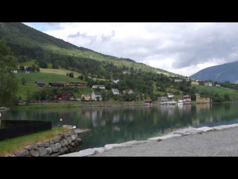 Olden, Norway, Village Centre Compilation - Adventure of the Seas Cruise