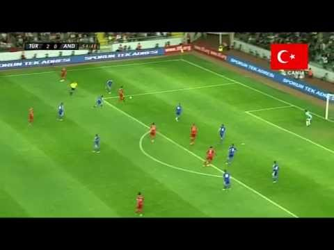 Gökhan Töre vs Andorra 9.5.13