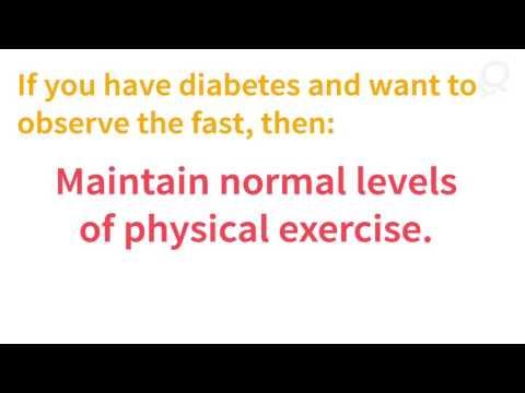 Managing diabetes during Ramadan