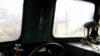 видео Тепловоз ТЭ2   Рычажная система тормоза