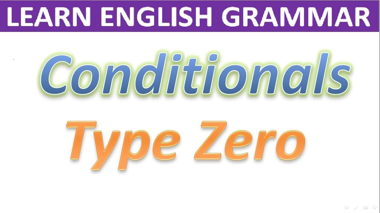 zero conditional Zero conditional & first conditional and more of the latest articles on english  language teaching from efl magazine see more details about it on efl.