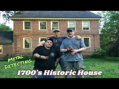 Field Trip! - Metal Detecting a Historic 1700's Colonial House