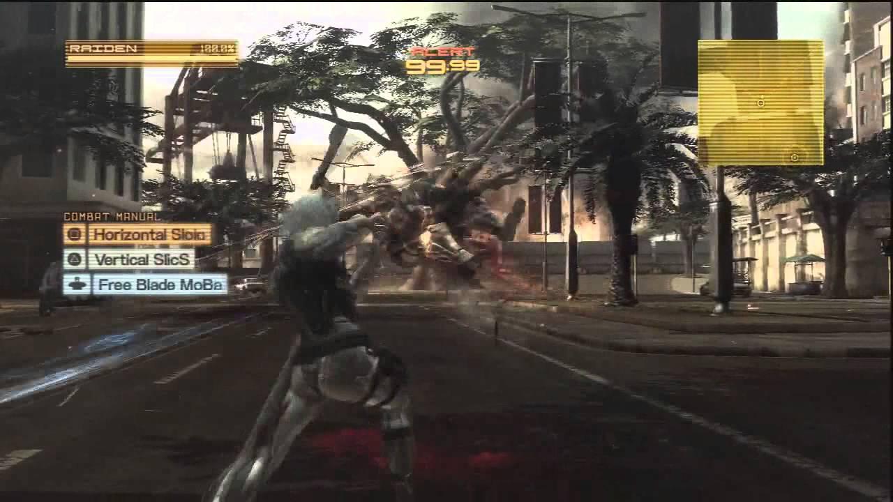 Metal Gear Rising Revengeance: Playthrough Part 1 - Metal Gear