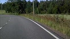Driving from Itäsalmi to Itä-Hakkila