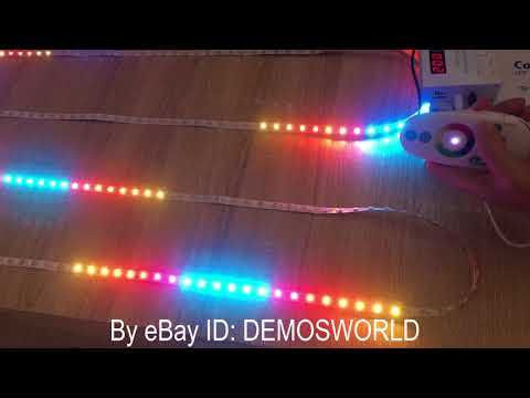 Colorful X2 Music Controller+WS2812B 300LED+MeanWell Power supply