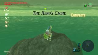 Zelda Breath og the Wild - The Heros Cache - Side Quest