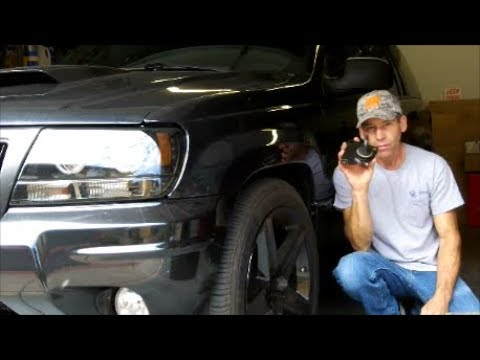 How to replace Upper Control Arm Bushings & Ball Joint on a 99-04 Jeep Grand Cherokee