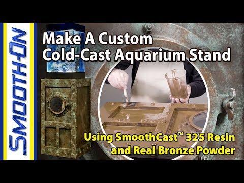 How To Make a Custom Cold Cast Aquarium Stand Using Urethane Resin