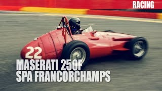 Historic Formula 1 Maserati 360 degree onboard video from Spa Francorchamps - Part 2