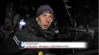 Bretagne - Crédit Mutuel Elite sur l'étape de ralliement St Cast Le Guildo - Roscoff