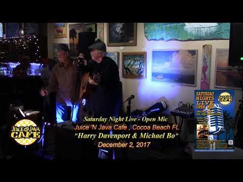 Harry Davenport & Michael Bo @ JnJ Open Mic 12.2.17