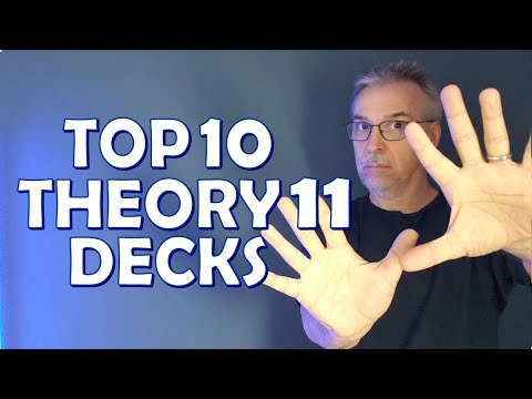 Best Playing Cards - Top 10 Decks From Theory 11