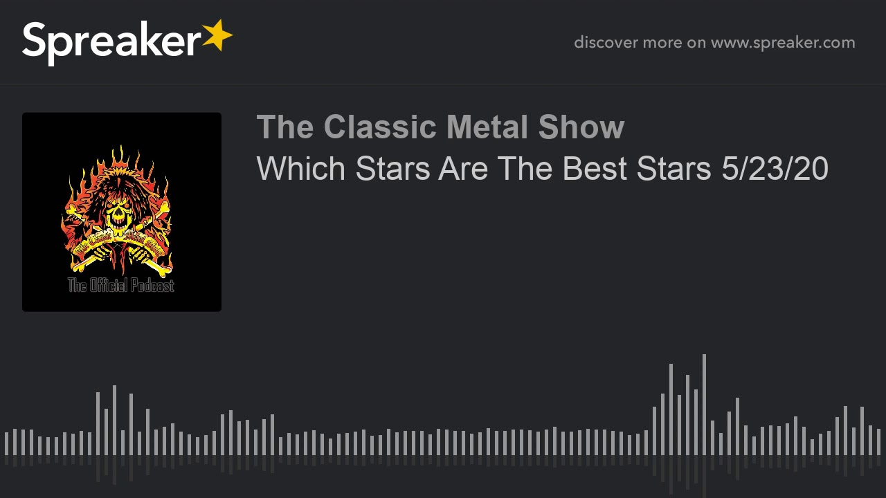 CMS HIGHLIGHT - Which Stars Are The Best Stars - 5 23 20