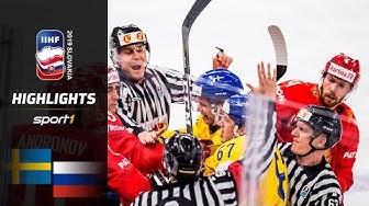 Weltmeister vorgeführt: Schweden – Russland 4:7 | Highlights | IIHF Eishockey-WM 2019 | SPORT1