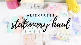 aliexpress stationery haul & reviews