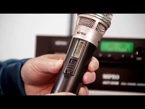 造韻樂器音響- JU-MUSIC - MIPRO ACT-312B UHF 無線 麥克風組 附2手握 麥克風