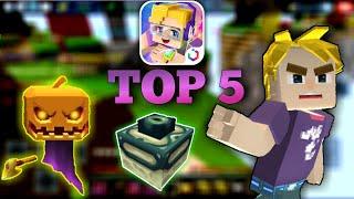 TOP5!! Legendary ALL SECRET ITEM in BlockmanGo😍
