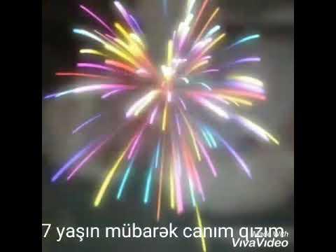 Ad gunu tebriki - Canim Qizim