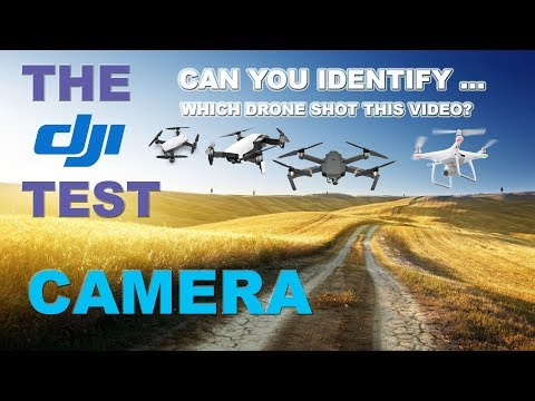 Take The Test - Can You Tell Which DJI Drone took this Video?