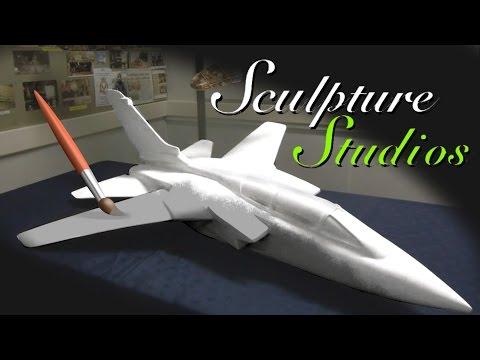 Fibreglass Tornado Jets by Sculpture Studios