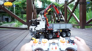 LEGO Technic 42043 - RC Motorized Mercedes-Benz Arocs 3245 by 뿡대디