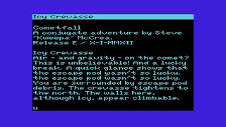 Cometfall for VIC-20