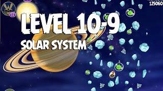 Angry Birds Space Solar System 10-9 Walkthrough 3-Star