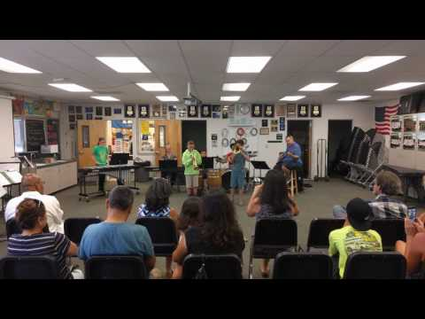 "Ramona Middle School Jazz Workshop 2016 - ""Second Line"""