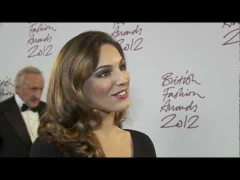British Fashion Awards 2012, Kelly Brook Interview