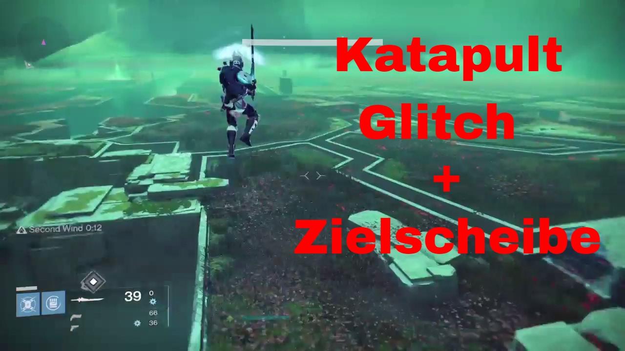 Destiny Katapult Glitch Schwarzer Garten Zielscheibe Des Todes