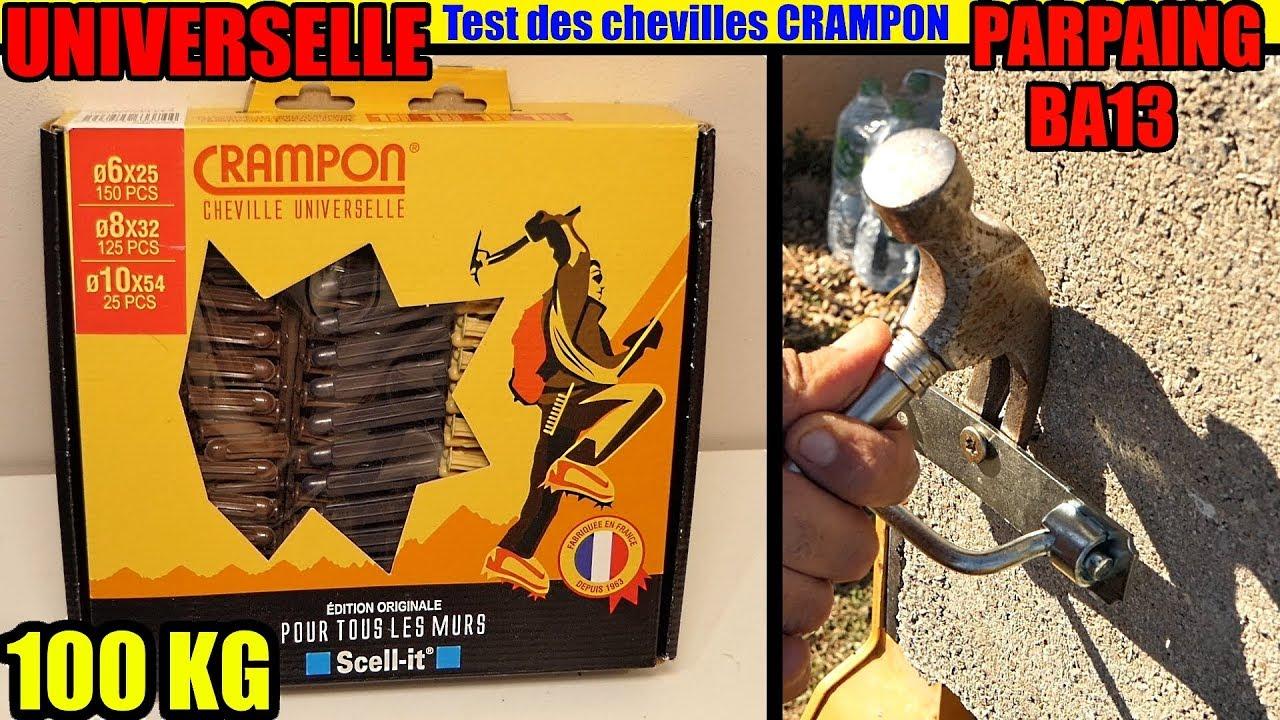 Chevilles Universelles Crampon Scell It Parpaing Ba13 Plaque De Plâtre Béton Brique Pleine Creuse