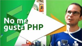 Por qué no me gusta PHP(SUSCRIBETE !! http://goo.gl/ZPioOq PHP es un lenguaje que particularmente nunca me ha enamorado. En este video te explico mis razones personales, no ..., 2016-09-29T17:00:04.000Z)