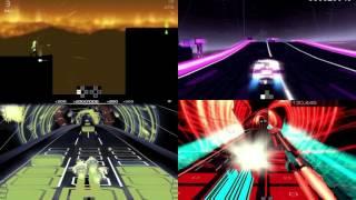 Rythm game comparison (Audiosurf, Melody