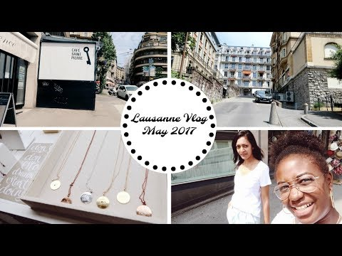 Vlog#1| Places to shop and brunch in Lausanne - Series