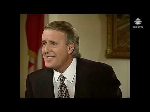 Download Le 24 février 1993, entrevue avec Brian Mulroney, premier ministre démissionnaire du Canada