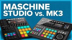 MASCHINE Studio vs. MASCHINE MK3 | Workflow-Vergleich