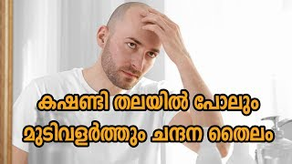 കഷണ്ടി തലയിൽ പോലും മുടിവളർത്തും ചന്ദന തൈലം, Chandanadi Thailam Benefits, Health Tips Malayalam