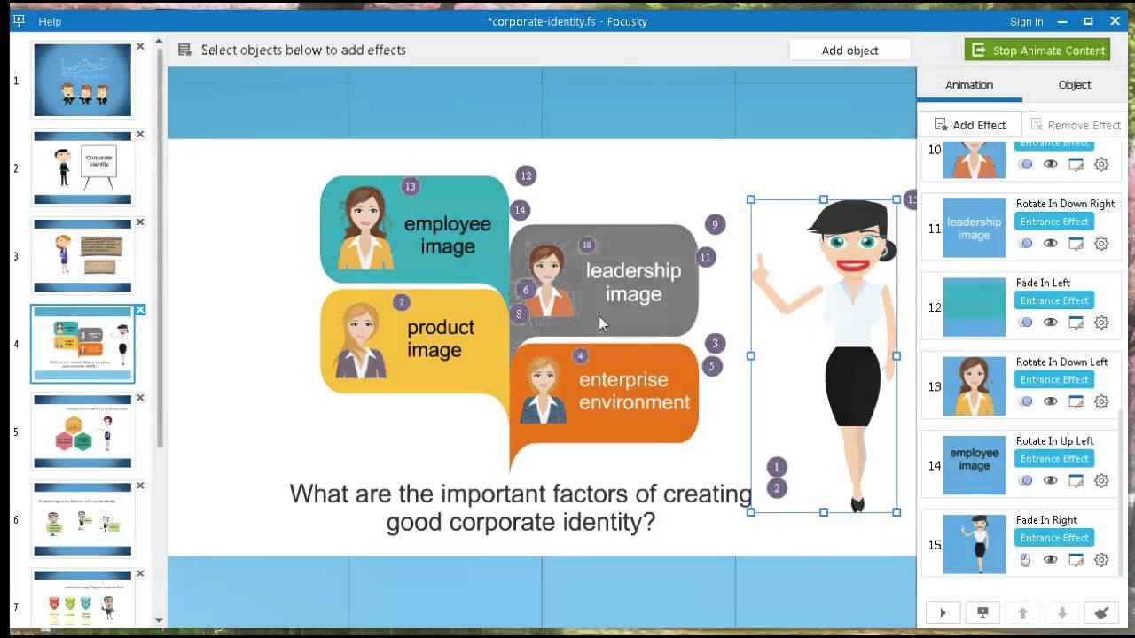 Download Focusky Presentation Maker Pro for Mac