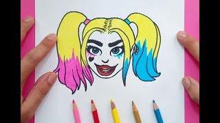 Ver Video De Cómo Dibujar Harley Quinn Uptime55 Ru